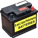 B and J Auto Electrical replacement batteries